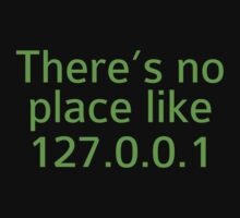 There's No Place Like 127.0.0.1 by DesignFactoryD
