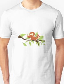 Molly the Red Squirrel Unisex T-Shirt