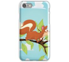 Molly the Red Squirrel iPhone Case/Skin
