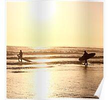 Golden Surfers Poster