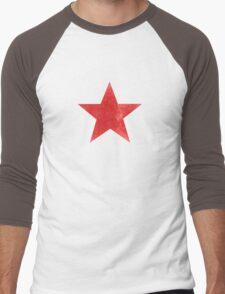 Red Star Men's Baseball ¾ T-Shirt