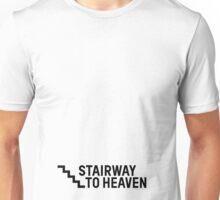 Stairway To Heaven Sexy Joke Funny Unisex T-Shirt