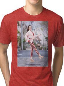 Hello Korean Tri-blend T-Shirt