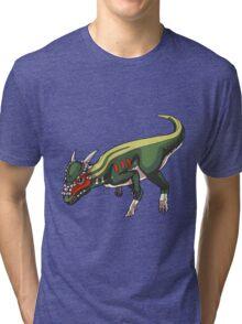 Stygimoloch/Pachycephalosaurus Tri-blend T-Shirt