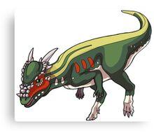 Stygimoloch/Pachycephalosaurus Canvas Print