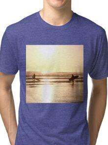 Golden Surfers Tri-blend T-Shirt