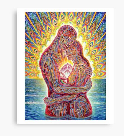ALEX GREY MY LOVE Canvas Print