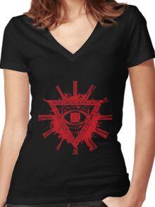 babymetal  Women's Fitted V-Neck T-Shirt