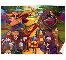 Ty, Sly, Ridge - Ty the Tasmanian Tiger Poster
