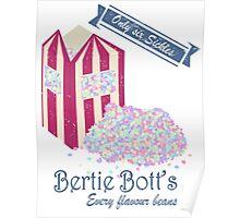 Vintage Bertie Bott's Every flavour beans Poster