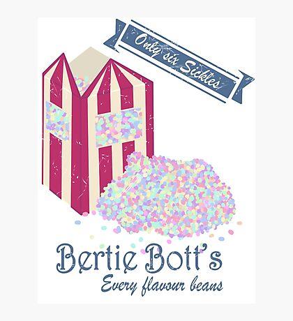 Vintage Bertie Bott's Every flavour beans Photographic Print