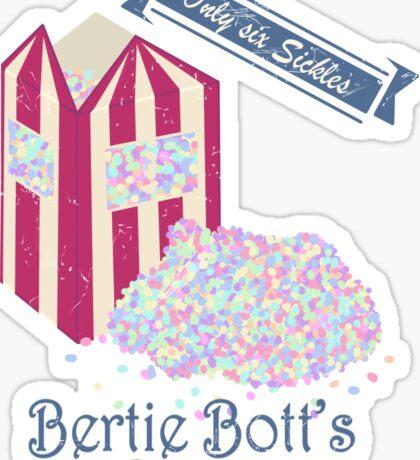 Vintage Bertie Bott's Every flavour beans Sticker