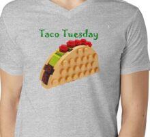 Taco Tuesday Mens V-Neck T-Shirt
