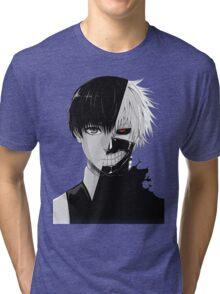 Tokyo Ghoul Ken Kaneki Tri-blend T-Shirt