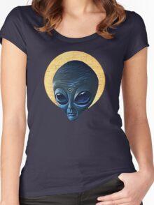 St. Alien Women's Fitted Scoop T-Shirt