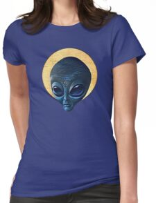 St. Alien Womens Fitted T-Shirt