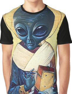 St. Alien Graphic T-Shirt