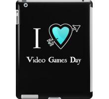 i love heart Video Games Day iPad Case/Skin