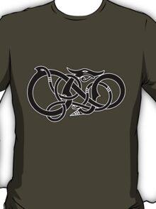 Viking Dragon in black T-Shirt