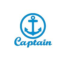 Captain anchor Photographic Print