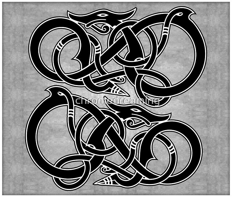 Ancient Viking Symbols Dragon More Information Djekova