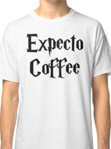 Expecto Coffee - I await Coffee Classic T-Shirt