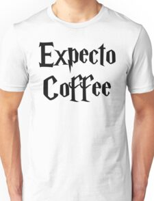 Expecto Coffee - I await Coffee Unisex T-Shirt