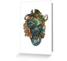 Alice in Wonderland Greeting Card
