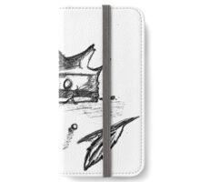 Broken Crown Sketch iPhone Wallet/Case/Skin