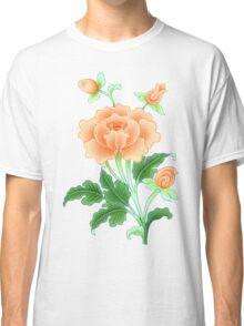 Buddhist Lotus Flower Painting Classic T-Shirt
