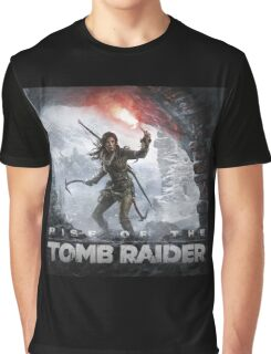 Rise of the Tomb Raider Video Game Graphic T-Shirt
