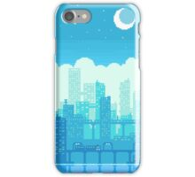Blue Moon City iPhone Case/Skin