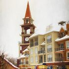 Tower Clock at Tremblant by Yannik Hay