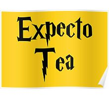 Expecto Tea - I await Tea Poster