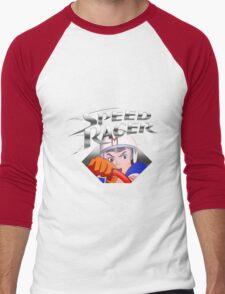 speedracer Men's Baseball ¾ T-Shirt