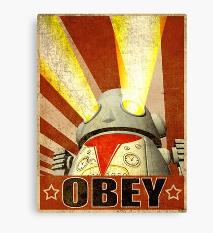 OBEY Version 2 Canvas Print
