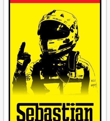 Sebastian Vettel Logo Design Sticker