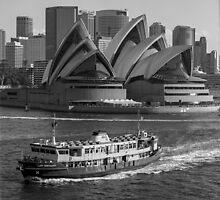 Harbour Views by Brett Rogers