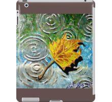 """October""  iPad Case/Skin"