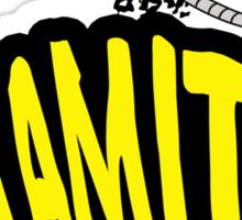Dynamite Sticker