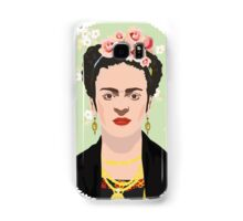 Frida Kahlo Green Samsung Galaxy Case/Skin