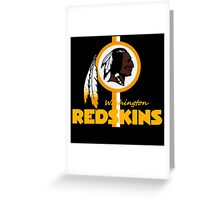 The Washington Redskins (NFL) Greeting Card
