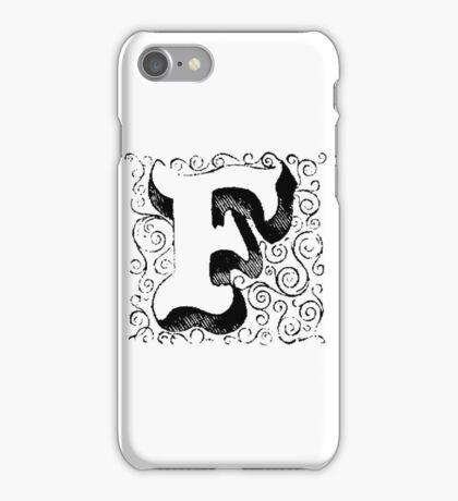 Block Alphabet Letter F iPhone Case/Skin