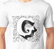 Block Alphabet Letter G Unisex T-Shirt