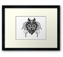 Mighty Wolf Framed Print