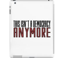 The Walking Dead TV Series  Democracy Movie Quotes Anarchy iPad Case/Skin