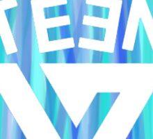 SEVENTEEN Badge - Blue Sticker