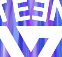 SEVENTEEN Badge - Purple Sticker