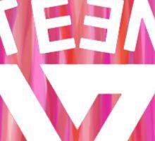 SEVENTEEN Badge - Peach  Sticker