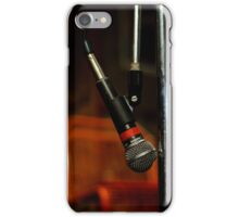 Step up to the Mic iPhone Case/Skin